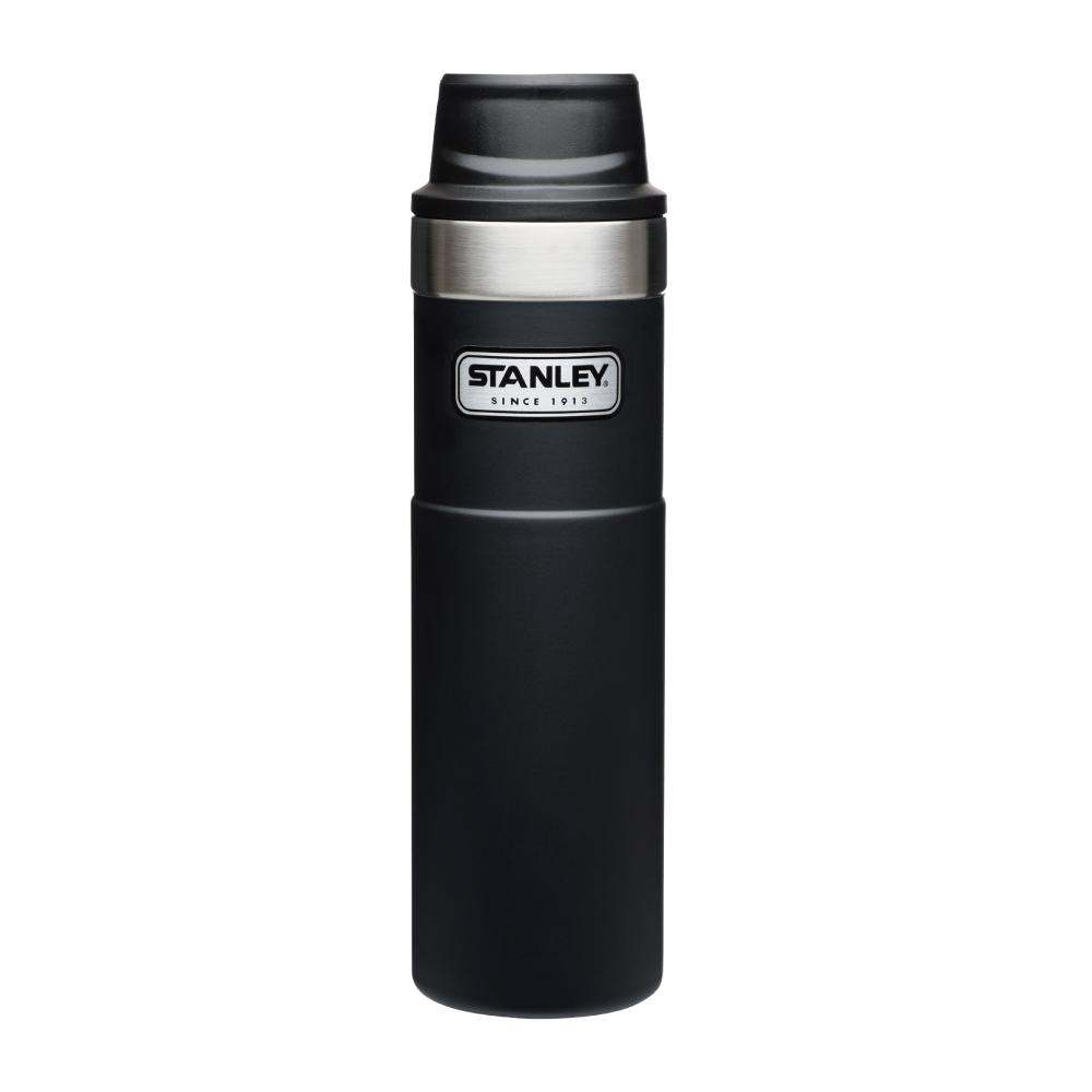 美國Stanley|時尚2.0單手保溫咖啡杯591ml-消光黑