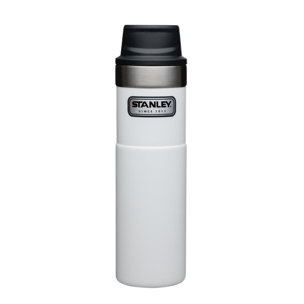 美國Stanley|時尚2.0單手保溫咖啡杯591ml-簡約白