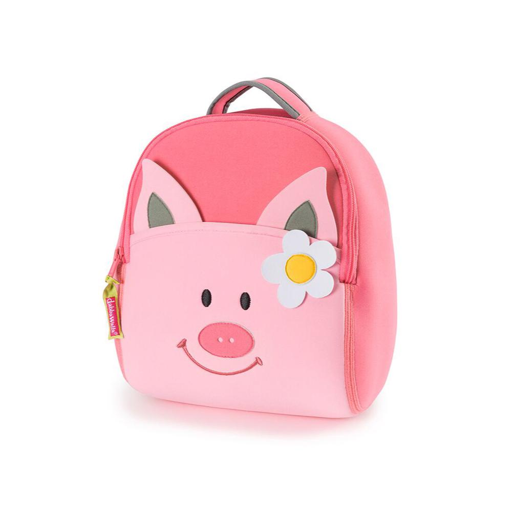 美國Dabbawalla瓦拉包|粉紅豬兒童後背包