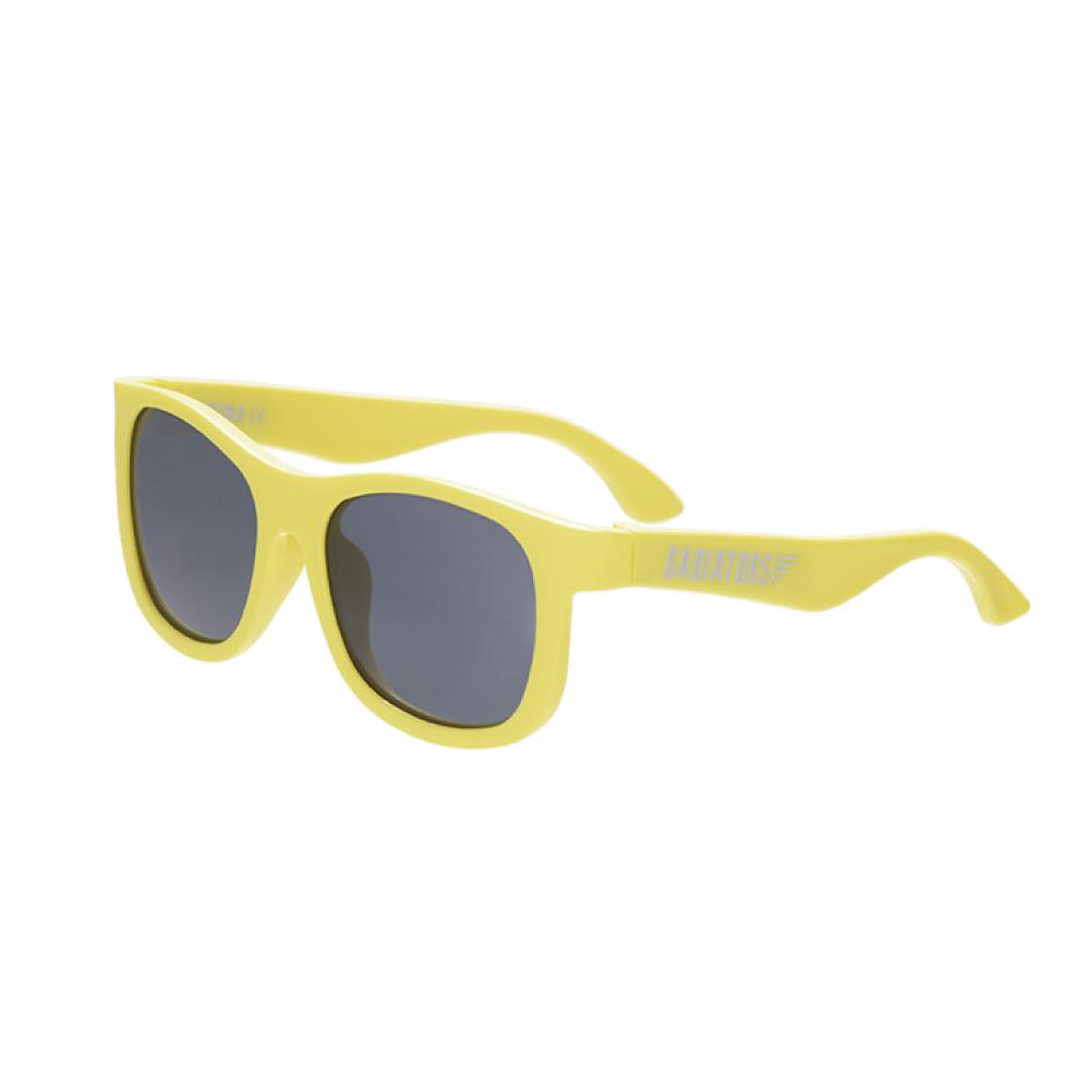 美國Babiators|航海員系列嬰幼兒太陽眼鏡-俏皮黃色 0-5歲