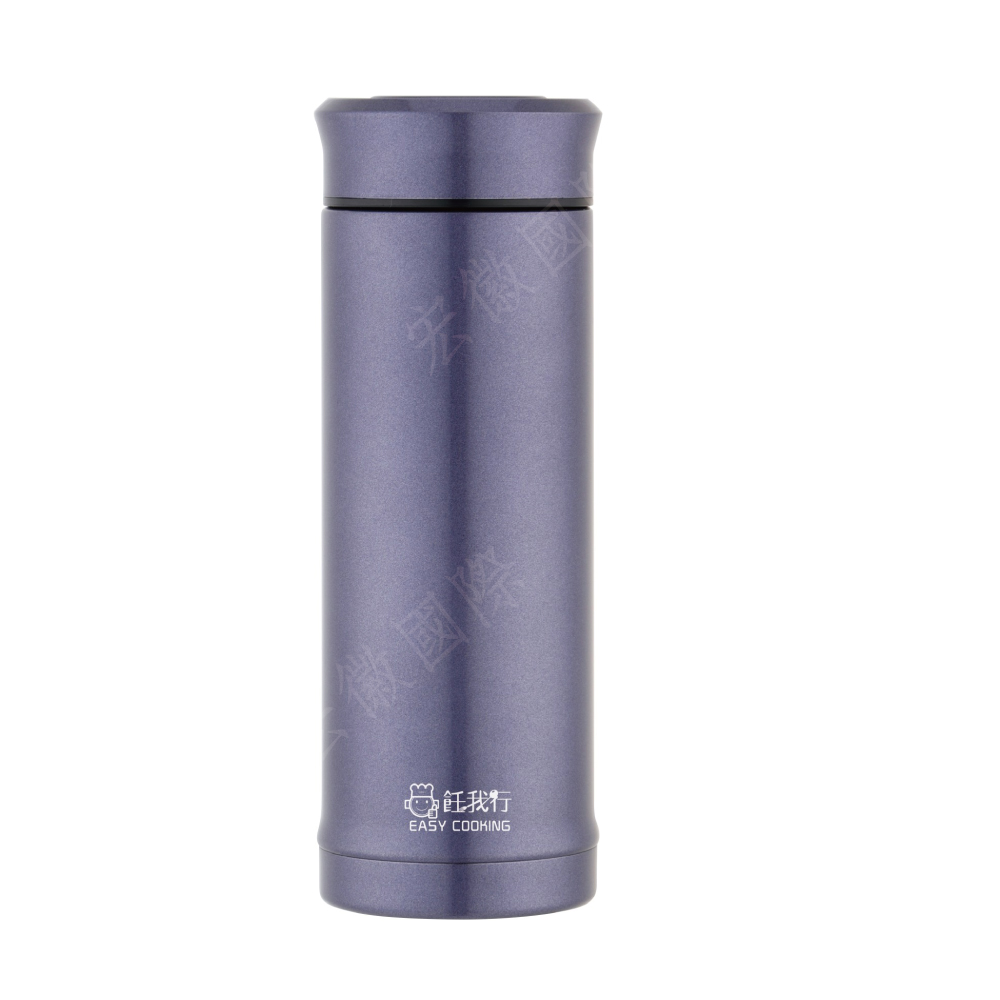 飪我行|樂陶陶茶韻陶瓷杯(贈泡茶濾網)-300ml高貴紫