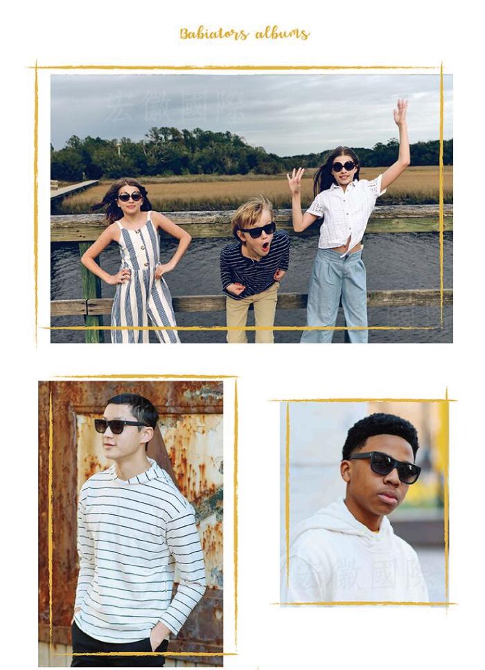 (複製)美國Babiators | 時尚系列太陽眼鏡-薔薇呢喃10-16歲