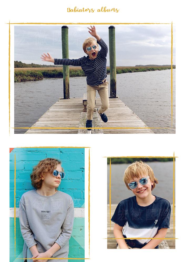 (複製)美國Babiators   時尚系列太陽眼鏡-爵士夜曲(偏光鏡片)10-16歲