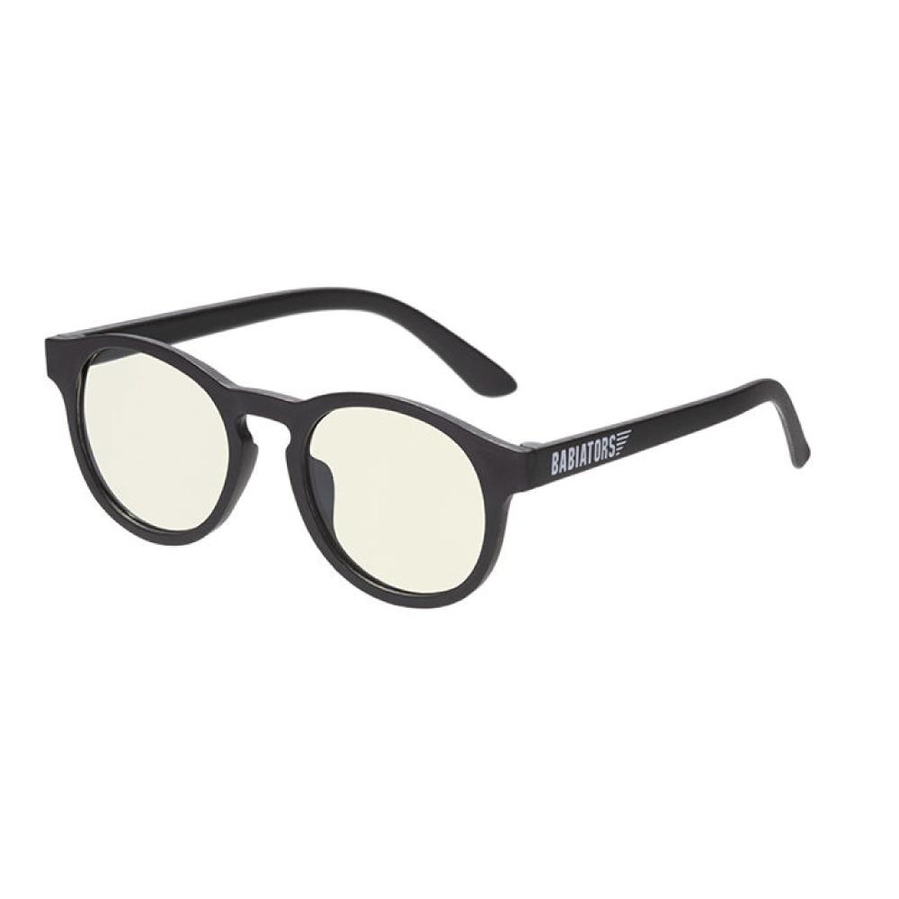 美國Babiators|藍光鑰匙孔系列嬰幼兒眼鏡-時尚雅黑3-10歲