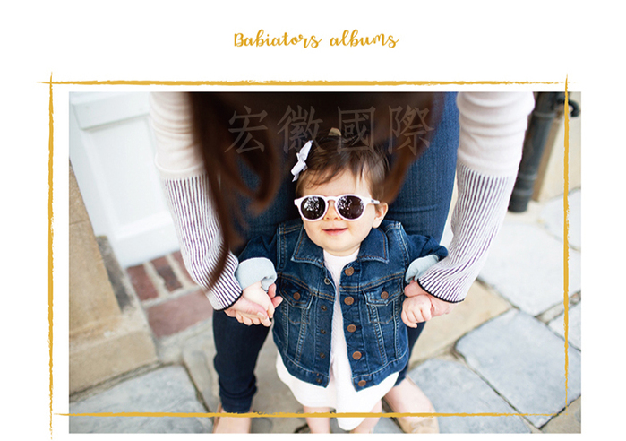 (複製)美國Babiators 鑰匙孔系列嬰幼兒太陽眼鏡-藍霧森林 0-10歲
