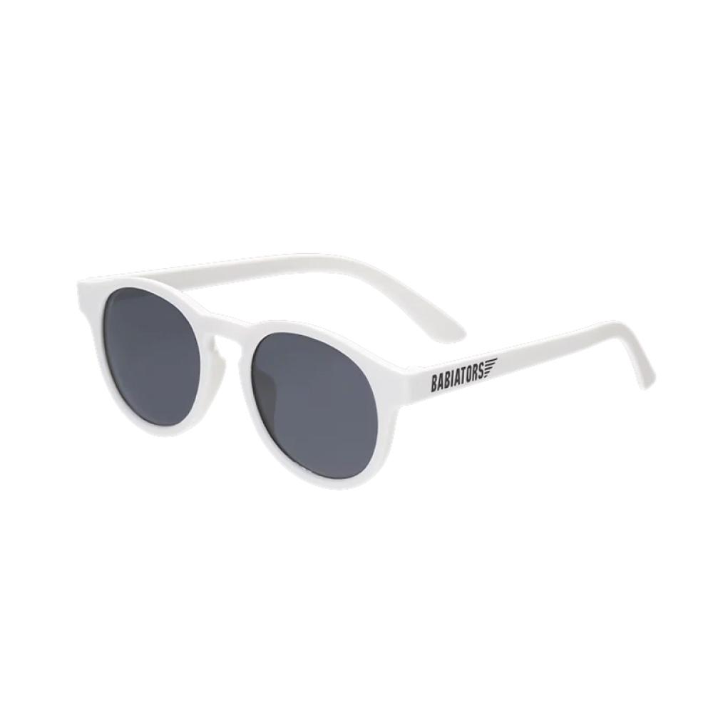 美國Babiators 鑰匙孔系列嬰幼兒太陽眼鏡-白色天鵝 0-10歲