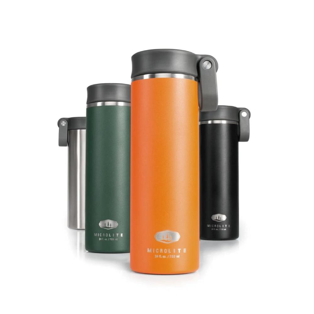 美國GSI|輕量單手提環不鏽鋼保溫瓶-0.7L