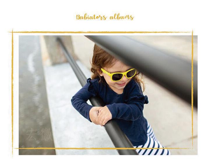 (複製)美國Babiators | 航海員系列嬰幼兒太陽眼鏡-搖滾熱紅 0-5歲