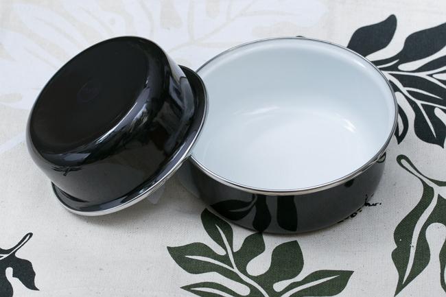 (複製)峇里島 Wind & Whisper 南洋琺瑯烤盤/烤碗2件組-藍天