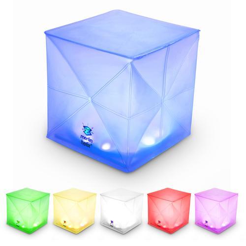 (複製)SOLIGHT DESIGN|【變形提把】發光泡芙Solarpuff-太陽能LED摺疊燈-彩虹