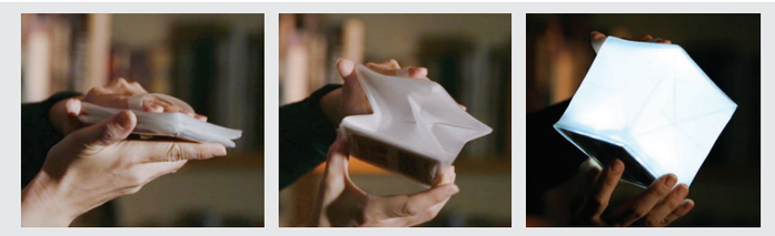 (複製)SOLIGHT DESIGN|【變形提把】發光泡芙Solarpuff-太陽能LED摺疊燈-白光