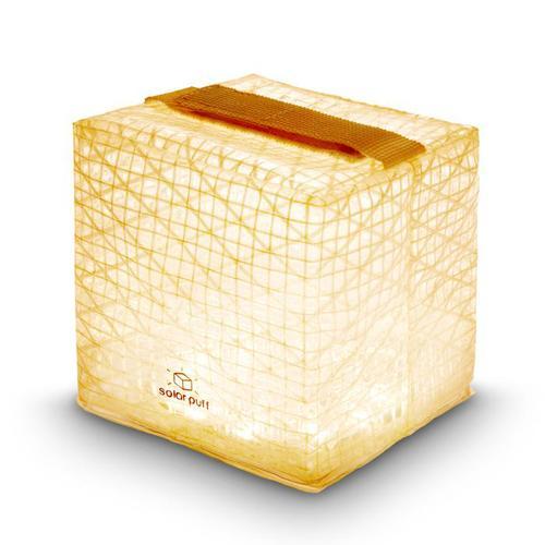 SOLIGHT DESIGN|【變形提把】發光泡芙Solarpuff-太陽能LED摺疊燈-黃光