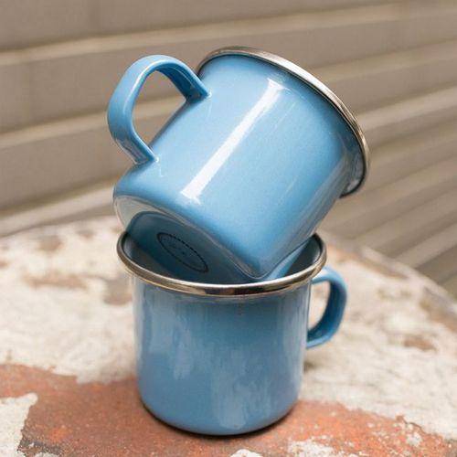 峇里島 Wind & Whisper|南洋咖啡雙杯組(藍天)