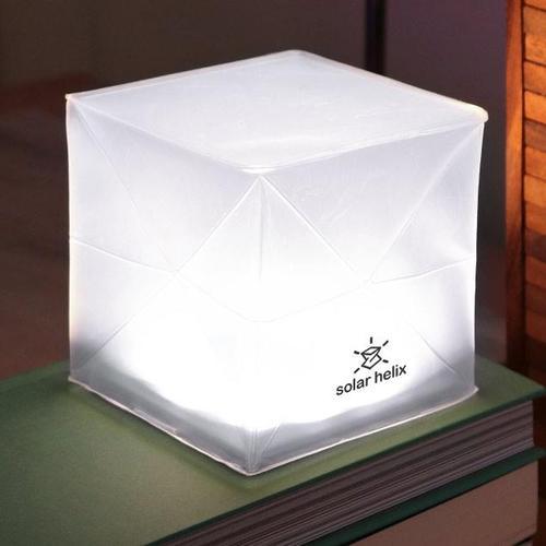 SOLIGHT DESIGN|【變形提把】發光泡芙Solarpuff-太陽能LED摺疊燈-螺旋白光