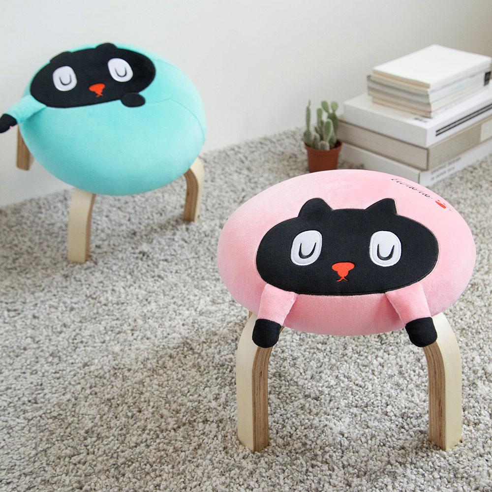 Memes Gift|Kuroro 貓貓掌小椅(粉紅色)