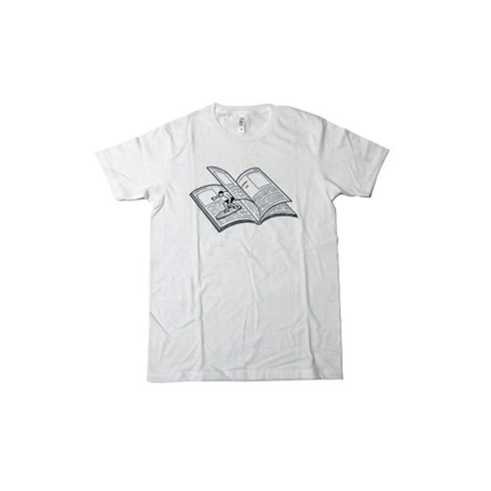 NORITAKE|MAGAZINE WAVE T-SHIRT(WHITE)