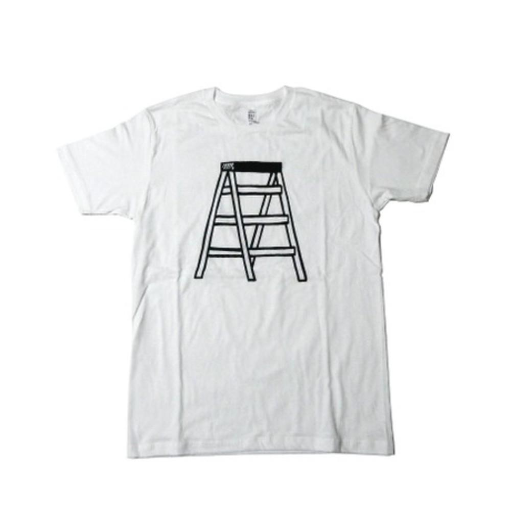 NORITAKE|きゃたつ Stepladder T-SHIRT(WHITE)