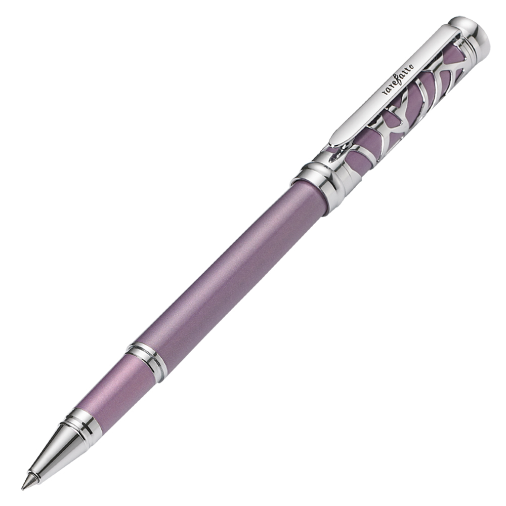 rarefatto|巴洛克紫色鋼珠筆 (免費刻字服務)