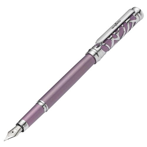 rarefatto|巴洛克紫色鋼筆F尖 (免費刻字)+送墨水管一盒(4管)