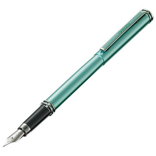 rarefatto 米蘭二代珠光綠鋼筆F尖+送墨水管一盒(4管)
