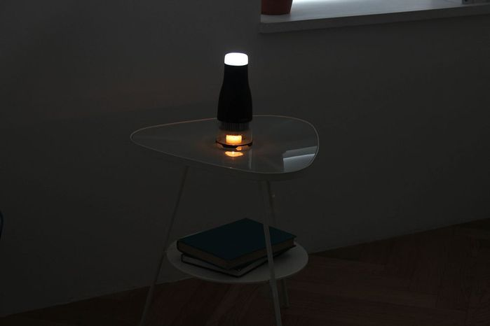 (複製)LUMIR|蠟燭節能LED氣氛燈 (黑)– Mood 暖黃光