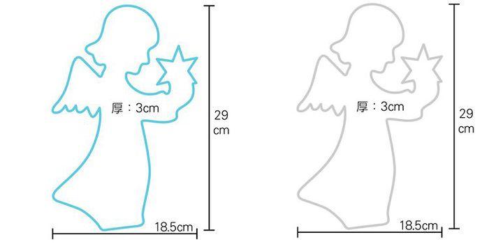 (複製)大力女|大力女造型LED小夜燈-聖誕樹