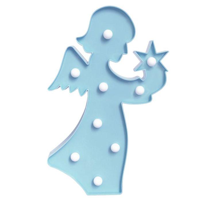 (複製)大力女|大力女造型LED小夜燈-白天使