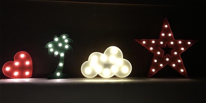 大力女|大力女造型LED小夜燈-藍月亮