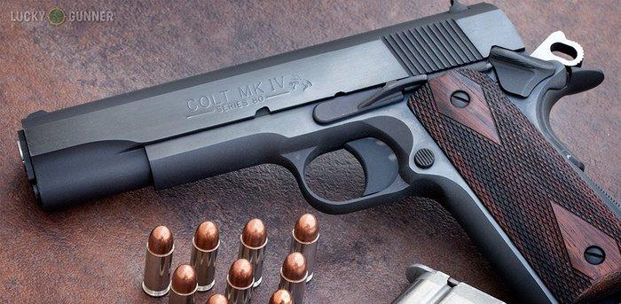 LKB|M1911-h 全金屬擬真彈藥填裝卡片夾/香煙盒