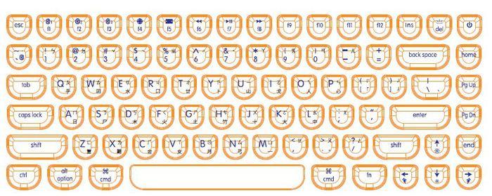 復古機械鍵盤 一般組