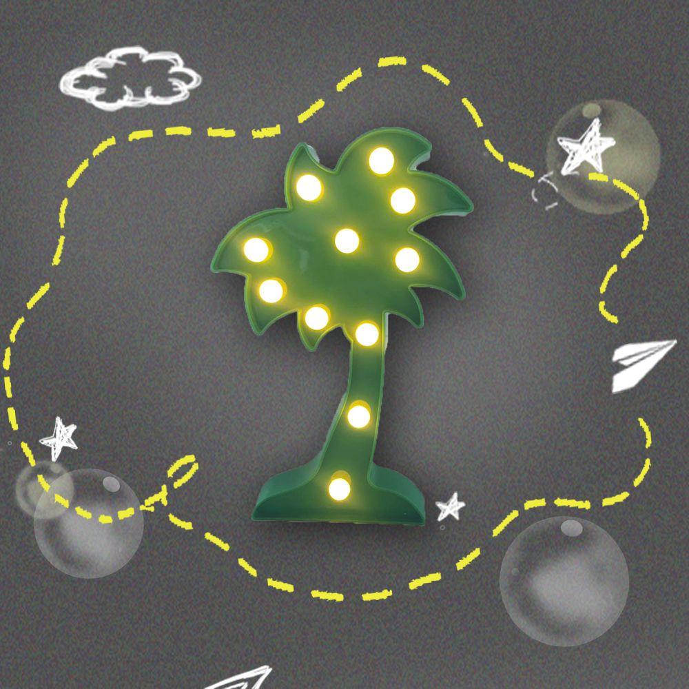大力女|造型LED小夜燈-椰子樹