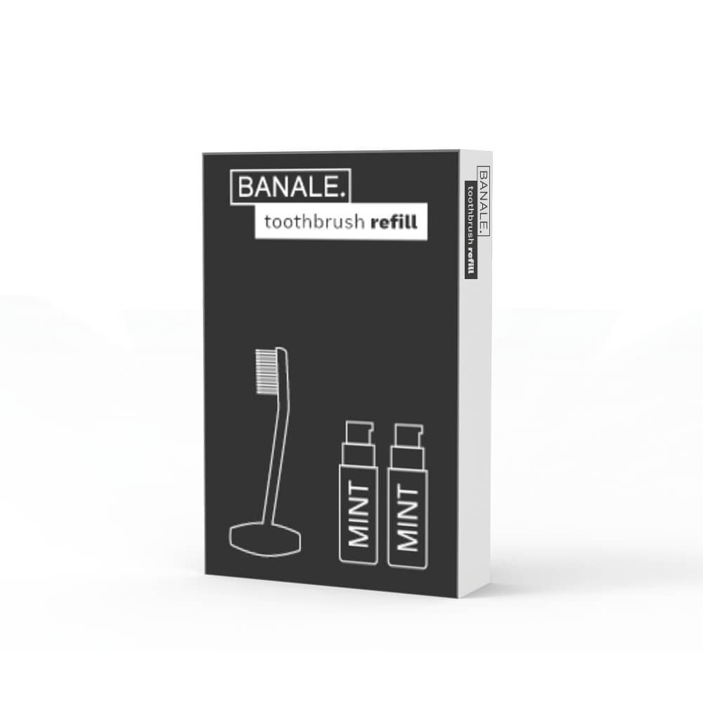 BANALE|牙刷&牙膏 補充包 - 2組入