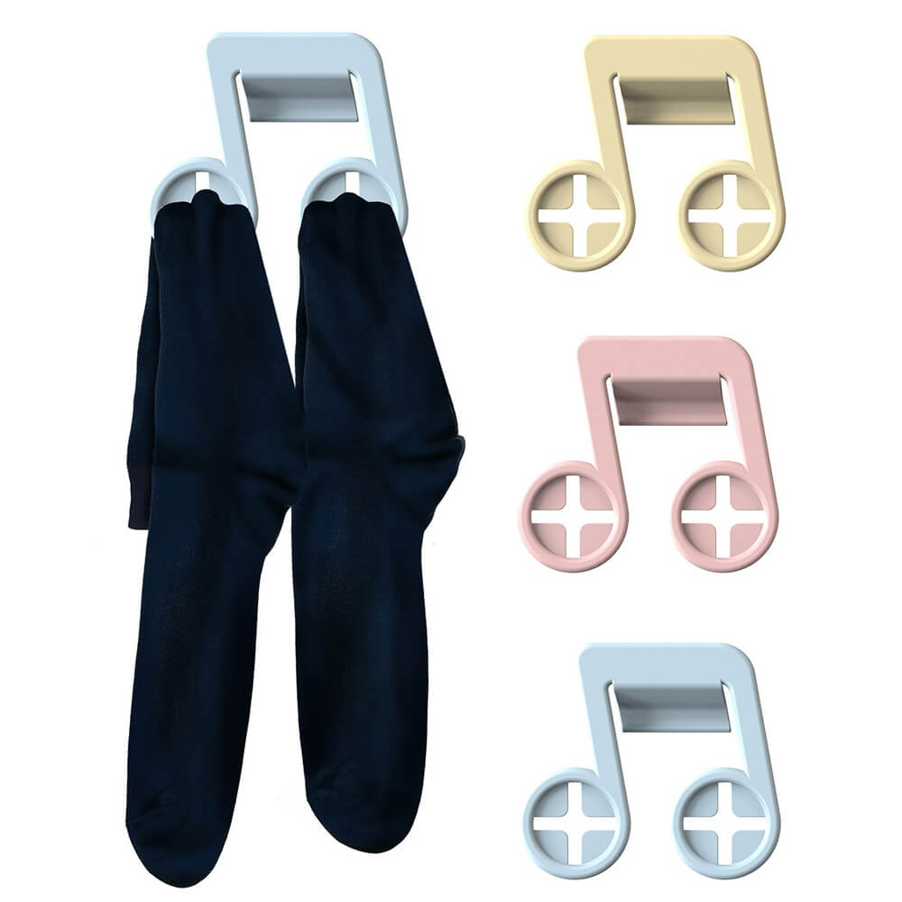 Rocket|音符造型多功能襪子夾 (6個/組)
