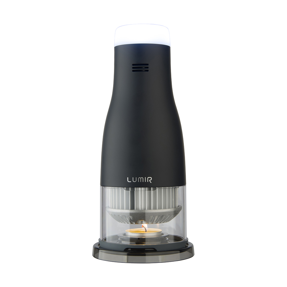 LUMIR|蠟燭節能LED氣氛燈 (黑) – MOOD白光