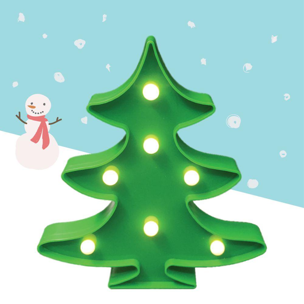 大力女|造型LED小夜燈-聖誕樹