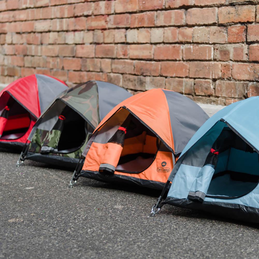 Cat Camp|貓帳篷 - 水藍