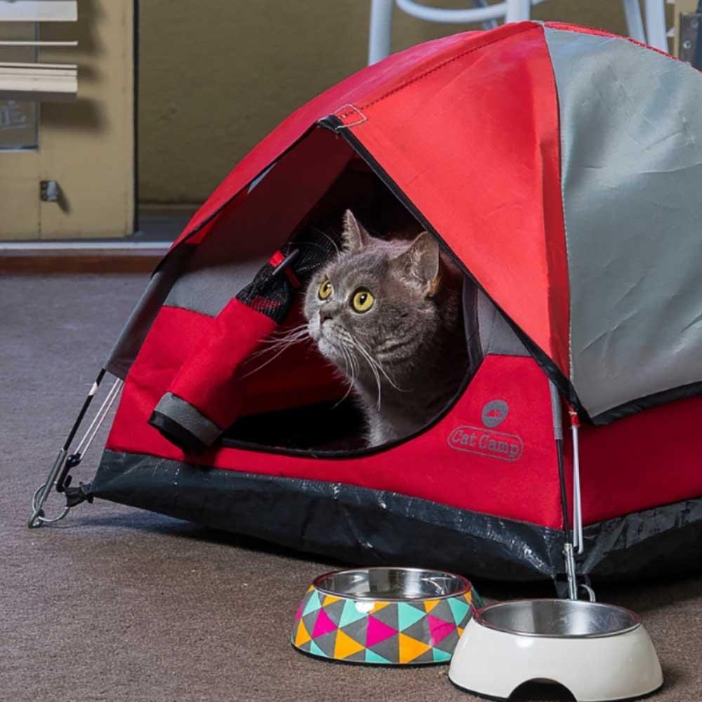Cat Camp 貓帳篷 - 紅色