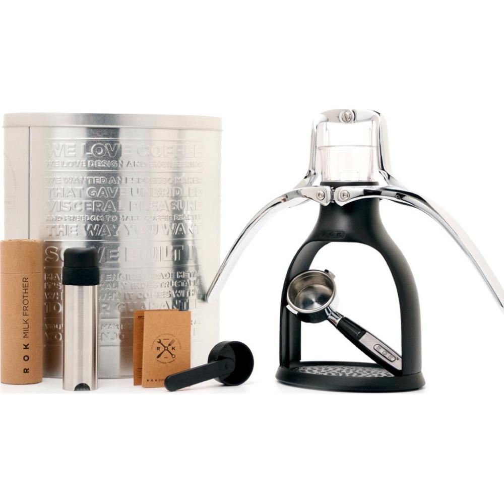 ROK|手壓咖啡機 ESPRESSO COFFEEMAKER(消光黑)