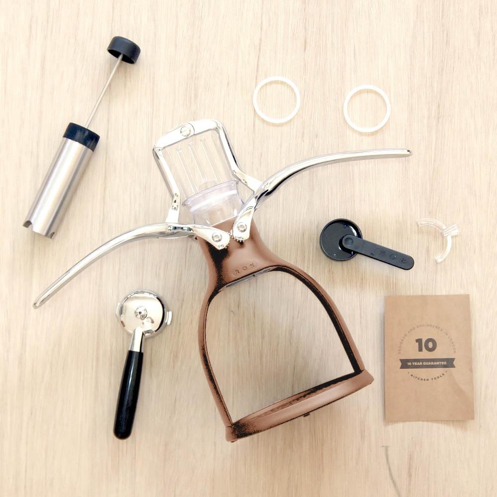 ROK | 手壓咖啡機 ESPRESSO COFFEEMAKER(古銅)