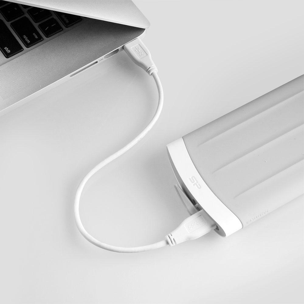 SP廣穎|Armor A65M 1TB USB3.0 2.5吋MAC專用行動硬碟(灰色)