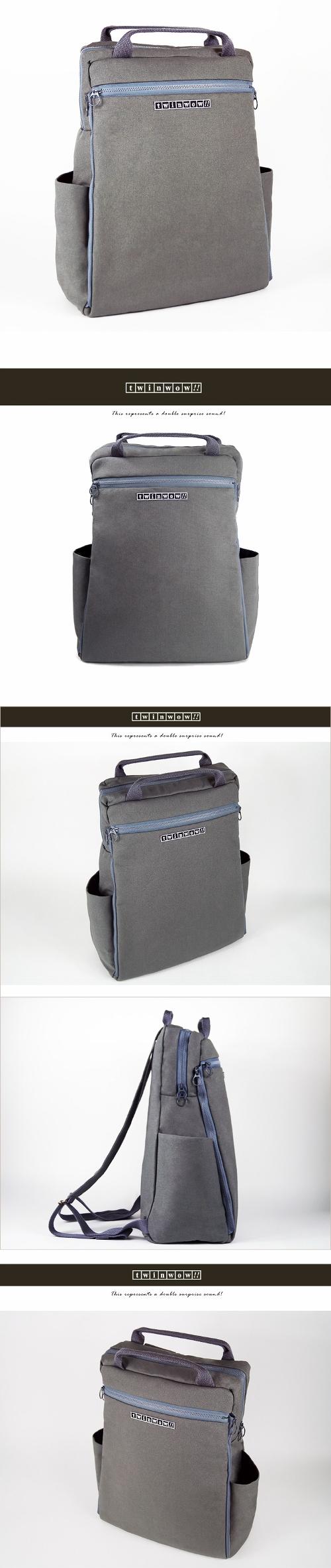 (複製)twinwow|時尚臻品 -細緻質感手提/側背包(暗橘)