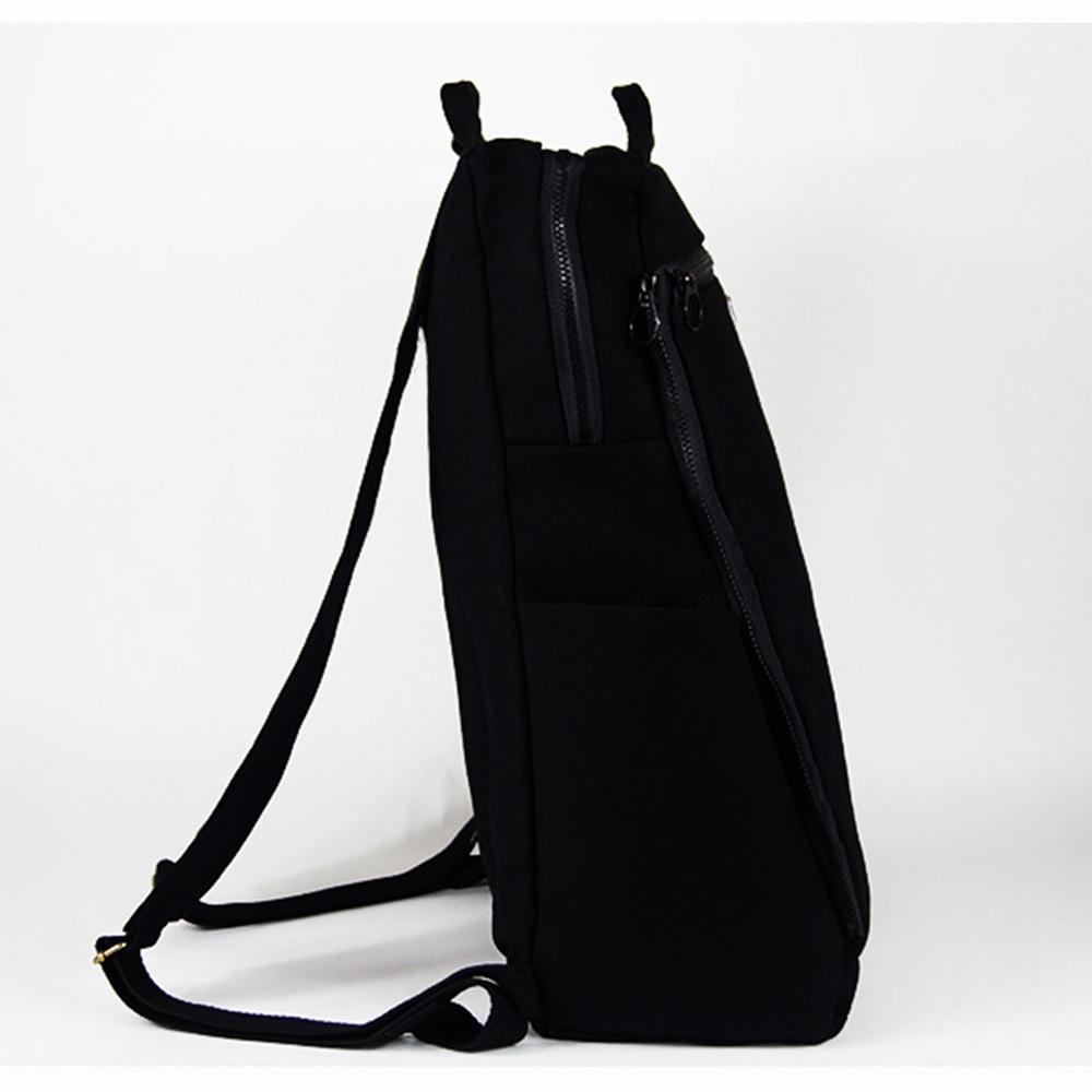 twinwow|經典卓越-細緻質感後背包(時尚黑)