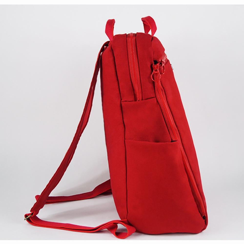 twinwow|經典卓越-細緻質感後背包(經典紅)