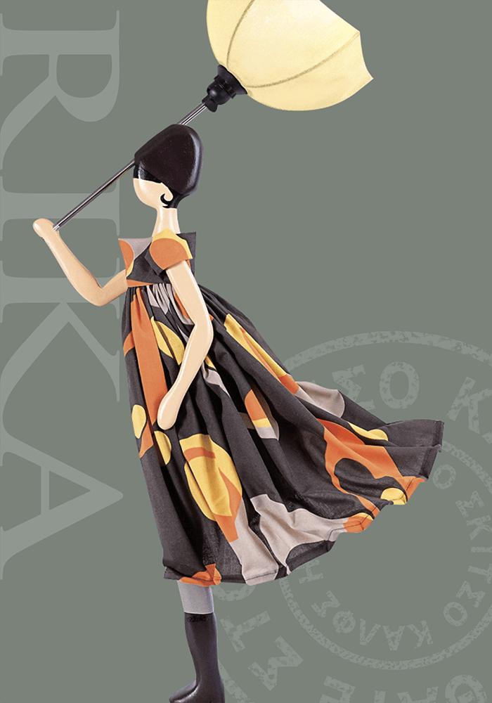 SKITSO|希臘女孩手工燈飾-RIKA