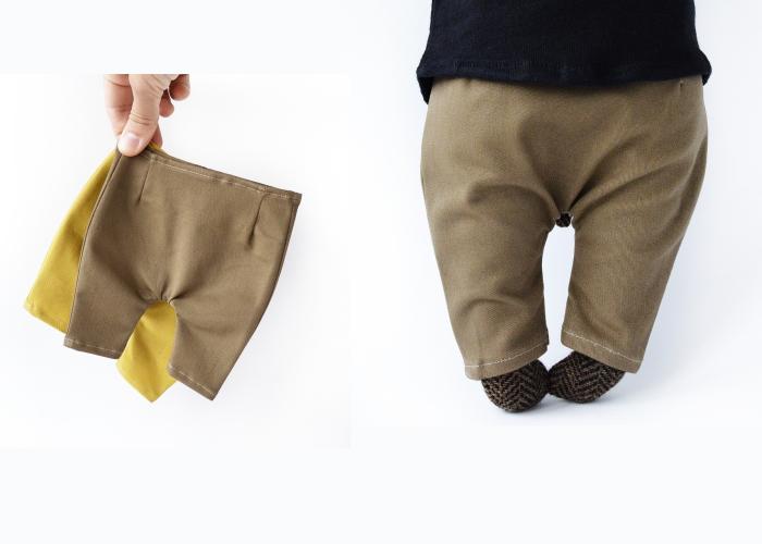 PK bears |大熊T恤卡其褲 淺棕
