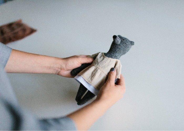 PK bears |小廚師&體貼對熊 23cm(附贈花束及立架)
