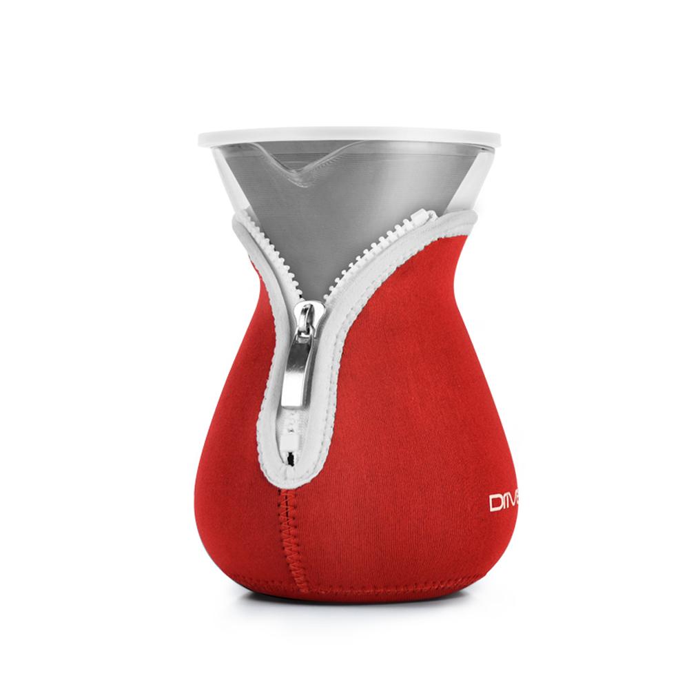 Driver|兩用咖啡濾杯壺組(紅色)