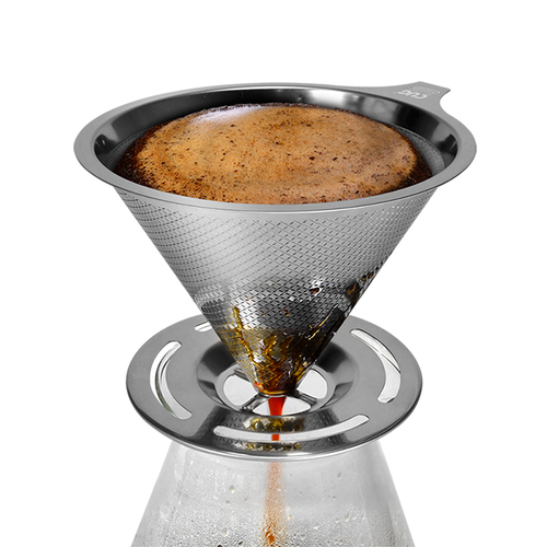 CUG|NEW不銹鋼咖啡濾杯1-4cup