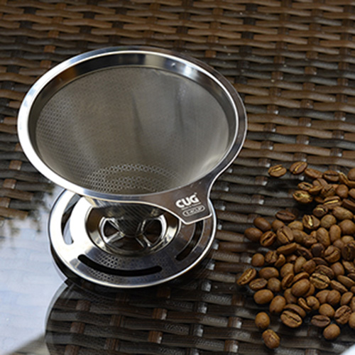 CUG NEW不銹鋼咖啡濾杯1-4cup