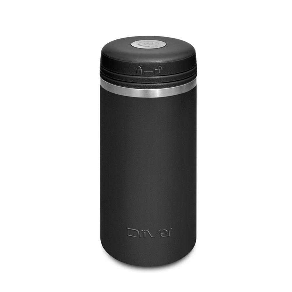 Driver|90Do保冷保熱陶瓷保冰杯 250ml (亞光黑)